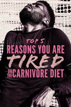 Every diet comes with its ups and downs and the all meat carnivore diet is no different.  When you go carnivore your body is making internal changes which sometimes can cause a little fatigue and irritability.  We dive deep and try to explain why and what to do. #carnivorediet #diet #dietplan #plan #zercarb #carbs #carbohydrates #keto #ketosis #weightloss #supplements #lowcarb #ketogenic Zero Carb Diet, No Carb Diets, Meat Diet, Diet Supplements, Easy Diets, Sleep Problems, Diets For Beginners, Good Energy, Mood Swings