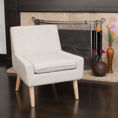 You'll love the Reese Tufted Fabric Retro Side Chair at Wayfair - Great Deals on all Furniture  products with Free Shipping on most stuff, even the big stuff.
