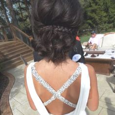 My prom hairstyle