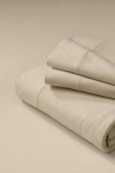 Four-season Organic Cotton Flannel Sheet Set, $ 58.99