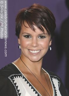 Short Wedge Hairstyles | Jessica Fox with a classic short hairstyle - a spiffy short haircut