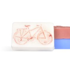 DIY Retro Bicycle Soap Making Kit: super cute handmade soap for the summer. The convenient kit makes it so easy to make for yourself!