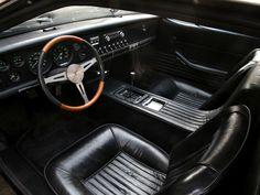 Sketchbook historic cars Pictures: De Tomaso Mangusta - Designer G. Giugiaro per Ghia