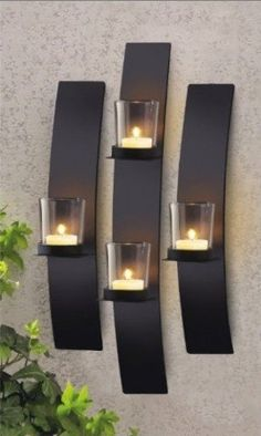 Classic wall lights cool room lamps,led bathroom lights modern wall lights for living room,polished nickel bathroom wall sconces simple bathroom light fixtures. Modern Candles, Modern Candle Holders, Wall Candle Holders, Candle Stands, Candle Wall Decor, Candle Wall Sconces, Metal Wall Decor, Hall Wall Decor, Candle Art