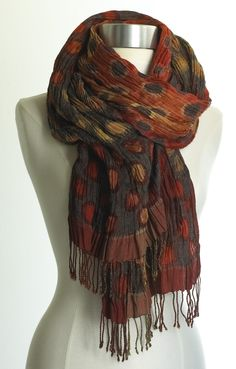 Circle Patterns Scarf-The Museum Shop of The Art Institute of Chicago