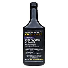 Archoil AR6400-D (16oz) Professional Diesel Fuel System and Engine Cleaner (Treats 25 Gallons of Diesel). For product info go to:  https://www.caraccessoriesonlinemarket.com/archoil-ar6400-d-16oz-professional-diesel-fuel-system-and-engine-cleaner-treats-25-gallons-of-diesel/
