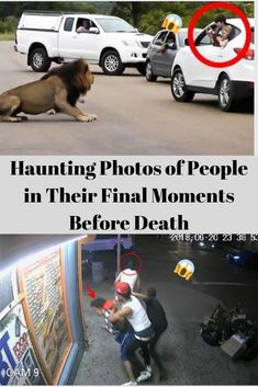 Haunting Photos of People in Their Final Moments Before Death