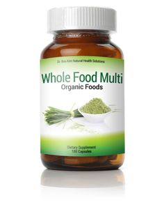 Our Organic Whole Food Multi Vitamin and Mineral Supplement