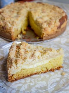 Cream Cheese Crumb Cake | BrunchTimeBaker.com - follow @Sarah Chintomby Nasafi @ Brunch Time Baker