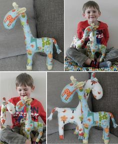 giraffe soft toy free tutorial pattern riley blake giraffe crossing