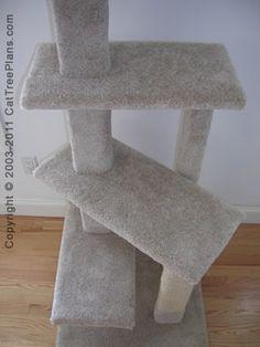 Cat condo plan... #TreeCheap - Catsincare.com!