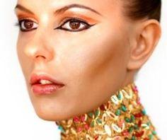 Makeup How-To: Egyptian Eye Makeup