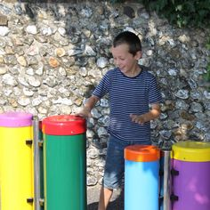 Outdoor Drums from the Percussion Play range of Outdoor Musical Instruments