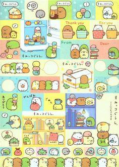 Sumikkogurashi animal in corner in a fridge Note Pad 6