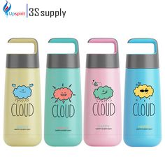 High Quality 280ml Stainless Steel Thermos Moca Vacuum Flask Cute Thermo Bottle Drikingware Water Bottle Travel Mug Drinking Mug
