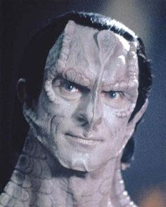 Gul Dukat, a Cardassian Captain from DS9, Dukat is one of the most celebrated villains in Star Trek for his complicated personality and powerful charisma. Star Wars, Star Trek Tos, Akira, Science Fiction, Star Trek Convention, Deep Space 9, Watch Star Trek, Alien Character, Sci Fi Tv Shows