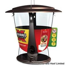 Supa Squirrel Proof Wild Bird Seed Feeder Feed Birds Not Squirrels for sale online
