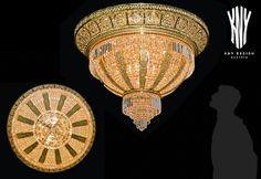 Crystal Ceiling Light, Ceiling Lights, Swarovski, Decorative Lighting, Led, Light Decorations, Plating, Chandelier, Crystals