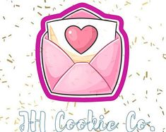 Valentine Cookies, Happy Valentines Day, Lettering Tutorial, Decoupage, Ink Art, Cute Cartoon, Cute Drawings, Birthday Cards, Diy And Crafts