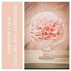 Cupcake Liner Pomander Tutorial {DIY Decorating} via TipJunkie.com