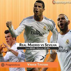 Será que o Real Madrid vai aproveitar o empate do Barcelona e se aproximar na classificação? Confere os prognósticos:  http://www.apostaganha.com/2016/03/19/prognostico-apostas-real-madrid-vs-sevilha-liga-bbva-8468436/  http://www.apostaganha.com/2016/03/20/prognostico-apostas-real-madrid-vs-sevilha-liga-bbva-6585875/  http://www.apostaganha.com/2016/03/20/prognostico-apostas-real-madrid-vs-sevilha-liga-bbva-84693/  200 euros de bônus, cashout e um dos melhores live. Conheça a 10bet…
