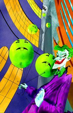 Joker and His Magic Fun-Time Balloons by skyscraper48.deviantart.com on @deviantART