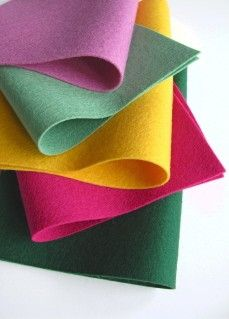 Wool Felt Sheets 100 Wool Felt Roses Color Story by FeltOnTheFly, $15.00