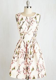 Moon Collection Blossoming with Beauty Dress