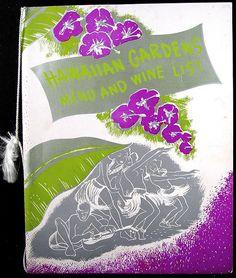 Tiki Hut Hawaiian Gardens, Tiki Hut, Wine List, Cocktails, Posters, Graphics, Illustrations, Inspiration, Craft Cocktails