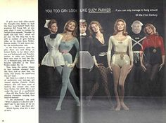 you too can look like suzy parker...if you can only manage to hang around till the 21st Century