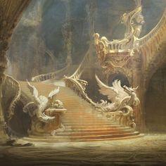 Beauty & the Beast Concept art created for Disney's 2017 live action rem Fantasy Worlds Fantasy Concept Art, Fantasy Art, Disney Concept Art, Art Inspo, Arte Sketchbook, Classical Art, Fantasy Landscape, Renaissance Art, Fantasy World