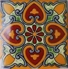 Hadeda Talavera Tiles | MULTI-COLOURED TILES