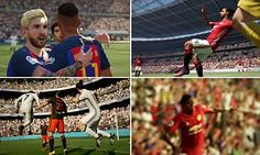 FIFA 17 trailer sees Paul Pogba dab for Manchester United and an animated Jose Mourinho on the touchline...