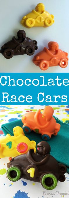 DIY Race Day Food – Chocolate Race Cars