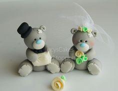 Tatty teddy wedding toppers