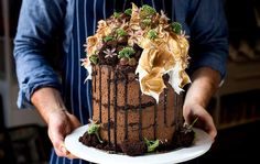 Top that: Andy Bowdy's Jasper cake.