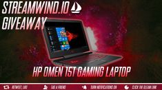 Enter This HP Omen 15t Gaming Laptop Giveaway! Great for World of Warcraft , Overwatch , Heros Of The Storm , Heroes Of The Storm , Diablo , Starcraft