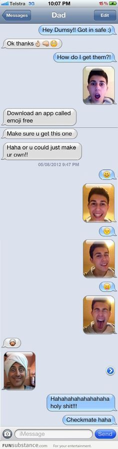 Haha, awesome! I feel like this is something I would text my littles