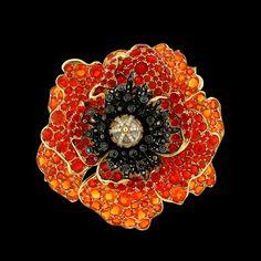 Paula Crevoshay Poppy Ring with opal, moonstone and diamond. Opal Jewelry, High Jewelry, Unique Jewelry, Flower Jewelry, Garden Of Lights, Elements Of Color, Yellow Jewelry, Diamond Brooch, Diamond Flower