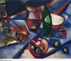 Marc Chagall, still-life (Nature morte), oil on canvas, private collection - Marc Chagall - Wikipedia, the free encyclopedia Marc Chagall, Acrylic Painting Lessons, Oil Painting Abstract, Watercolor Artists, Painting Art, Watercolor Painting, Chagall Paintings, Oil Paintings, Fauvism