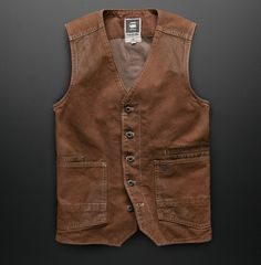 G-Star RAW Midnight Collection Tip 20 - Layer In A Classic. The gilet is a timeless piece that layers into any outfit for a more formal feel. Be daring and try one in aged canvas, but play by the rules and always wear the bottom button open.