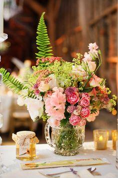 #Flowers in a #Glass #Vase See more at www.prestonbailey.com Tweet Preston at: @Preston McGee Bailey  Friend Preston on Facebook at: Preston Bailey.