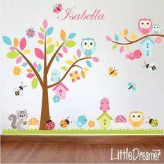 vinilos decorativos  *coleccion arboles infantiles ag*