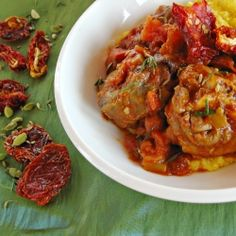 Tamatiebredie (Tomato Stew) - a traditional South African dish for the Soccer World Cup. South African Dishes, South African Recipes, Indian Dishes, Ethnic Recipes, Braai Recipes, Kitchen Recipes, Paleo Recipes, Cooking Recipes, Nigerian Food