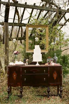 Rustic   Whimsical Fall Wedding Inspiration | bellethemagazine.com