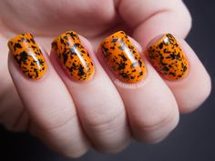 Chalkboard Nails - Halloween Nails!