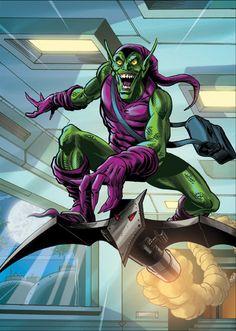 The Green Goblin by Soulman-Inc.deviantart.com on @deviantART
