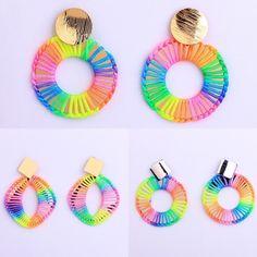 Rainbow Rope Earring-New-Coming Soon – Lizzys Abode New Coming, Coming Soon, Rainbow, Note, Earrings, Jewelery, Ear Rings, Rainbows, Rain Bow
