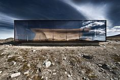 Located in Dovrefjell National Park, the Snøhetta-designed Norwegian Wild Reindeer Pavilion uses a stark design to frame the surrounding landscape. Its retangular form is in direct contrast with the curved wooden seating area that serves as a perfect spot to...