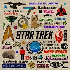 Star Trek Memories Tote Bag on CafePress.com